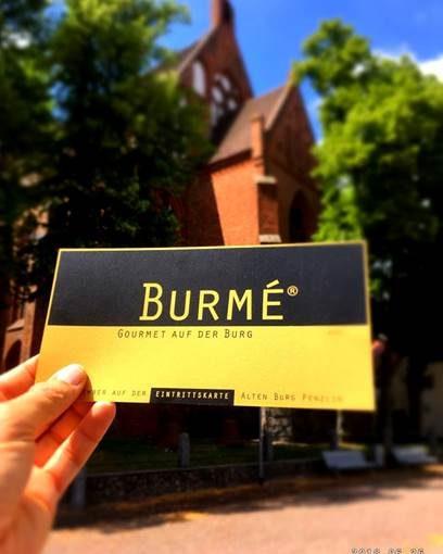 BURMÉ®- Gourmet auf der Burg Penzlin 2018!